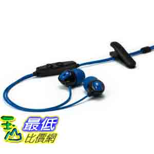 [美國直購 ShopUSA] 防水耳機 H2O Audio IE2-MBK Surge Contact Waterproof Sport Headset (Black/Blue)