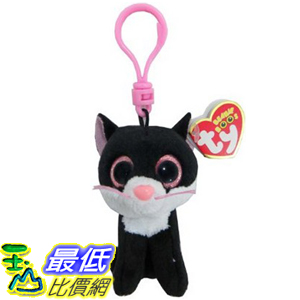 [104美國直購] 玩偶 TY36524 Ty Beanie Boos - Pepper-Clip the Cat