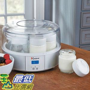 [104美國直購] Euro Cuisine Automatic Digital Yogurt Maker YMX650 電子優格機 (YMX100 YMX80可參考)