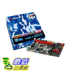 [美國直購 ShopUSA] BIOSTAR 主機板 H61MGC LGA 1155 Intel H61 Micro ATX Intel Motherboard $2500