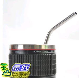 [103 玉山最低比價網] 正品品牌coogeek食品級304不銹鋼吸管 創意環保 奶茶咖啡飲料果汁吸管攪拌棒 (一組2入) ( W33) $98