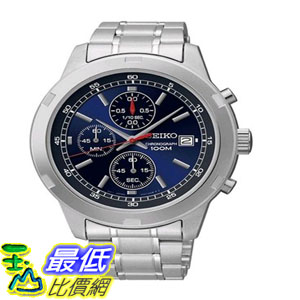 [103美國直購] 手錶 Seiko SKS419 Chronograph Blue Dial Stainless Steel Mens Watch $5111