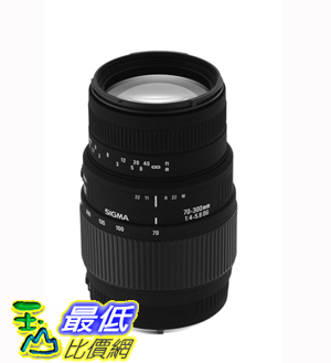 [美國直購 ]Sigma 70-300mm f/4-5.6 DG Macro Telephoto Zoom Lens for Nikon SLR Cameras 鏡頭 $6060