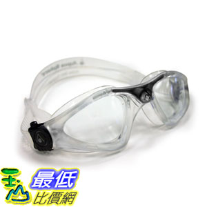 [104美國直購] 義大利製 clear/clear Aqua Sphere KAYENNE GOGGLE 成人 泳鏡 蛙鏡