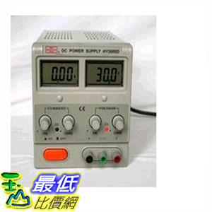 [104美國直購] 計測 直流電源 Mastech REGULATED LINEAR VARIABLE DC POWER SUPPLY 30V 6A HY3006D