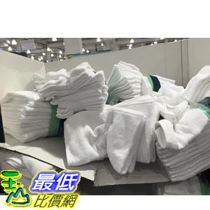 [104限時限量促銷] COSCO 商用純棉白毛巾12件 尺寸:40 X 76公分 GRANDEUR C371369