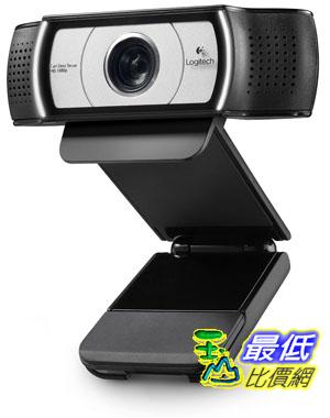[103 美國直購 ShopUSA] Logitech Webcam C930e (Business Product) 高清視頻攝像頭