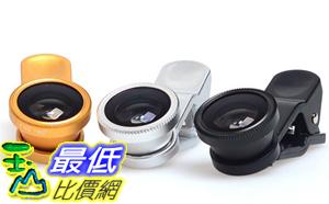 [103 玉山最低比價網] 自拍神器 旅行必備 手機鏡頭夾 三合一鏡頭 魚眼 微距 廣角 手機鏡頭 (M114)