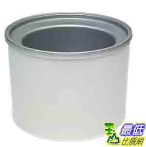 [美國直購 ShopUSA] Cuisinart 冰淇淋機 ICE-RFB 1-1/2-Quart Additional Freezer Bowl, Fits ICE-20/21 Ice Cream ..