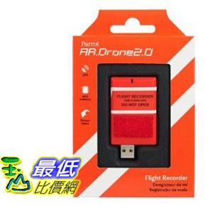 [103 美國直購 USA Shop] Parrot AR.DRONE 2.0 Flight Recorder: GPS, 4GB, return to take-off location featu..
