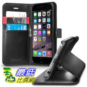 [104美國直購] Spigen iPhone 6 /6s 翻蓋錢包皮套 B00JH88O72 Premium Wallet Case SGP10972