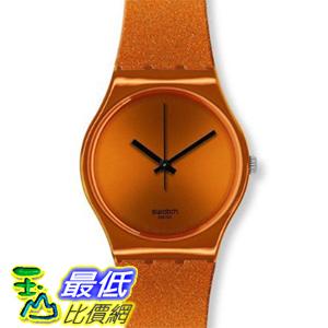 [美國直購 ShopUSA] Swatch 手錶 Originals Deep Orange Dial Silicone Mens Watch GO111 $1837