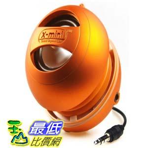 [美國直購 ShopUSA] X-Mini II 音響 XAM4-OR Portable Capsule Speaker, Mono, Orange $1020