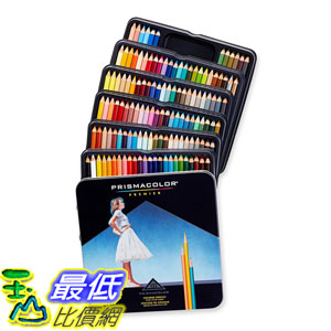 [104美國直購] Prismacolor 4484 Premier Soft Core Colored Pencils 頂級油性色鉛筆132色