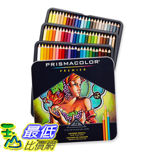 [美國直購] Prismacolor 3599TN Soft Core Colored頂級油性色鉛筆 72色